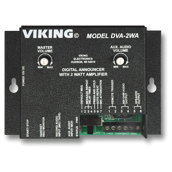 Viking Electronics VK-DVA-2WAM Promotion On Hold Device