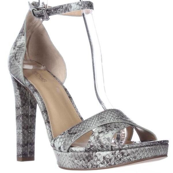 MICHAEL Michael Kors Divia Ankle Strap Platform Sandals, Celadon
