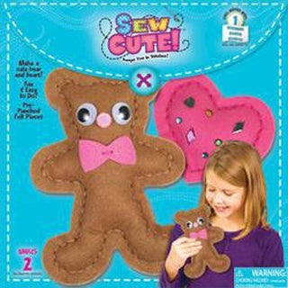 Sew Cute Sew A Bear-