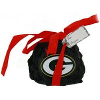 "Green Bay Packers Coal Ornament - 2"""