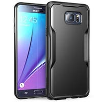 Galaxy Note 5 Case,Supcase, Unicorn Beetle Series Premium Hybrid Protective Bumper Case-Black/Black