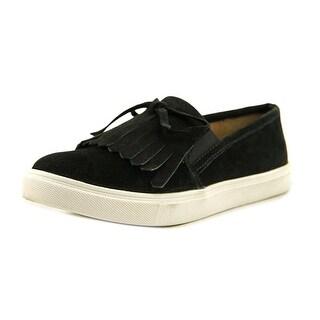 Steve Madden Eban Round Toe Suede Sneakers