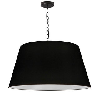 Link to 1LT Brynn Large Pendant, BLK Shade, Black Similar Items in Pendant Lights