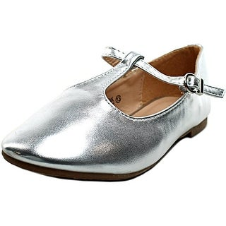 Bella Marie Triss Round Toe Synthetic Ballet Flats