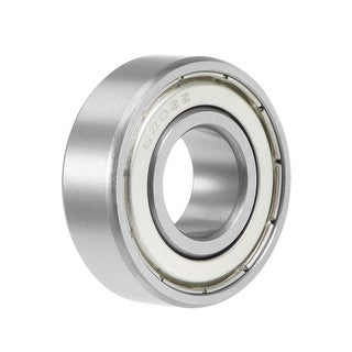 6202ZZ Deep Groove Ball Bearing 15x35x11mm Double Shielded Chrome Bearings 1pcs - 1 Pack - 6202ZZ (15*35*11)