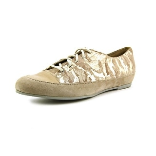 Munro American Petra N/S Round Toe Canvas Oxford