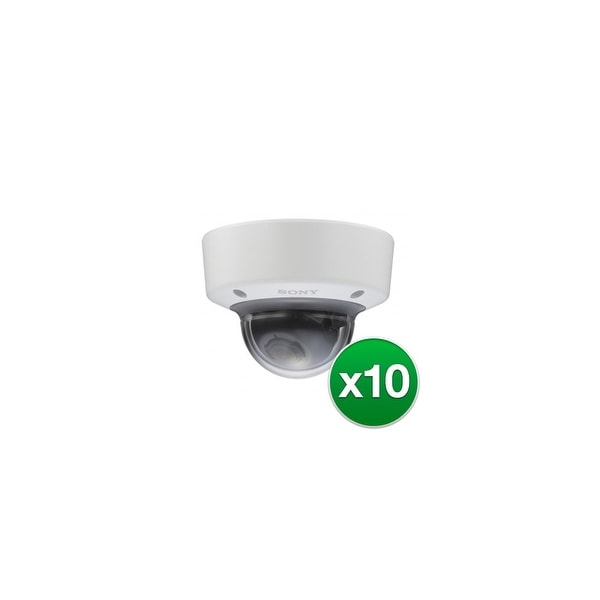 Sony Network 1080p30 FPS Vandal Minidome Camera (10-Pack) Vandal Minidome Camera