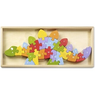 BeginAgain BGAI1204 Toys Dinosaur A to Z Puzzle - Assorted