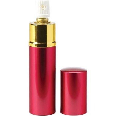 Tornado Lipstick Pepper Spray System With Uv Dye (red) - Red