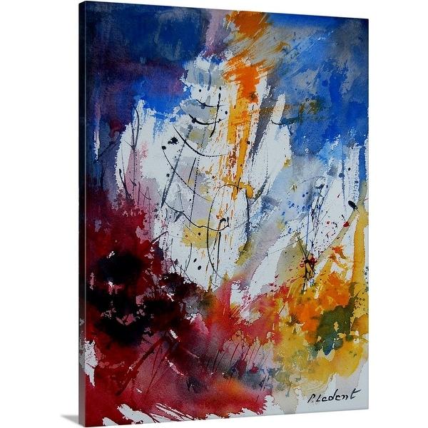 """Abstract 901120"" Canvas Wall Art"