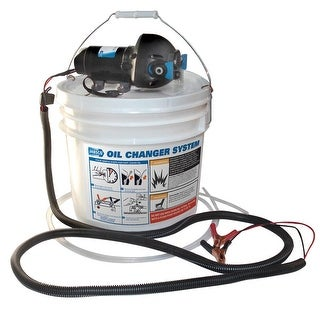 Jabsco Diy Oil Change System W/ Pump And 3.5 Gallon Bucket - 17850-1012
