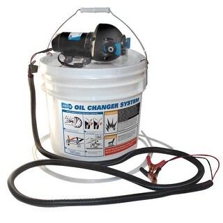 Jabsco Diy Oil Change System W/ Pump And 3.5 Gallon Bucket - 17850-1012