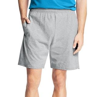Hanes Men's Jersey Pocket Short
