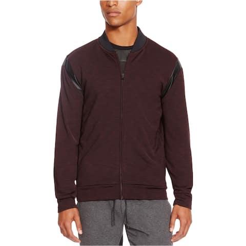 Kenneth Cole Mens Plum Berry Sweatshirt, Purple, X-Large
