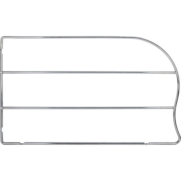 Hardware Resources TD12-PC 12 Inch Tall Wire Bakeware Divider - Polished  chrome