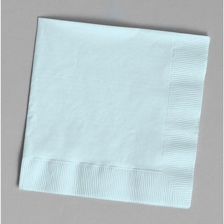 Touch Of Color 50 Count Luncheon Napkins Pastel Blue - Multi