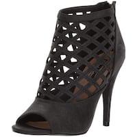 Michael Antonio Women's Hunni Heeled Sandal, Black, Size 11.0 - 11