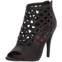 Michael Antonio Women's Hunni Heeled Sandal, Black, Size 6.5