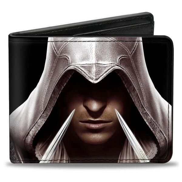 Ezio Hidden Blade Close Up + Assassin's Creed The Ezio Collection Bi Fold Bi-Fold Wallet - One Size Fits most