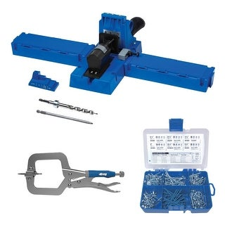 "Kreg Jig K5 with Starter Screw Kit and 2"" Clamp"