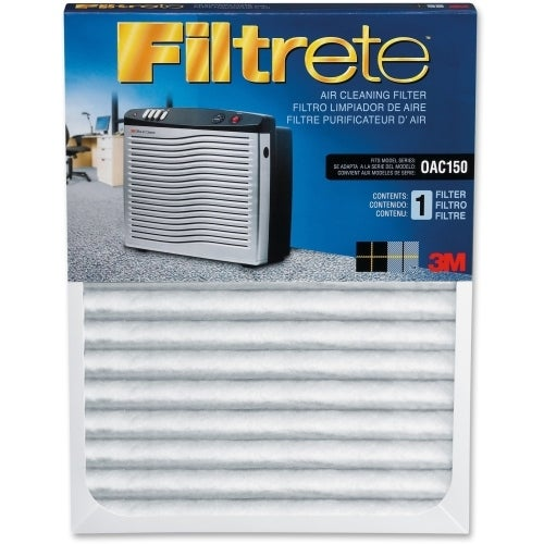 """""""Filtrete OAC150RF Filtrete Replacement Air Filter - 11"""" Height x 23.5"""" Width x 1.12"""" Depth - White"""""""