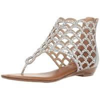 ZIGI SOHO Womens Melaa Open Toe Special Occasion Strappy Sandals