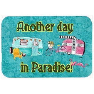 Carolines Treasures 8758CMT 30 x 20 in. Another Day in Paradise Kitchen Or Bath Mat