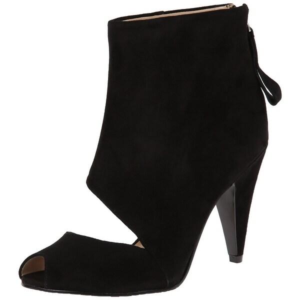 Nine West NEW Black Sumptuous Shoes Size 5M Ankle Suede Boots