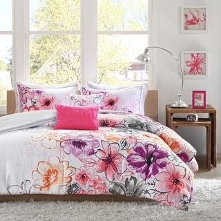 Link to Taylor & Olive Harriman Floral Microfiber 5-piece Comforter Set Similar Items in Comforter Sets