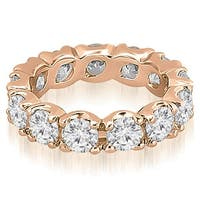 14K Rose Gold 2.70 cttw. Round Diamond Eternity Ring HI,SI1-2