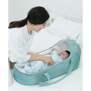 Travel Baby Bed and Lounger, Moses Basket
