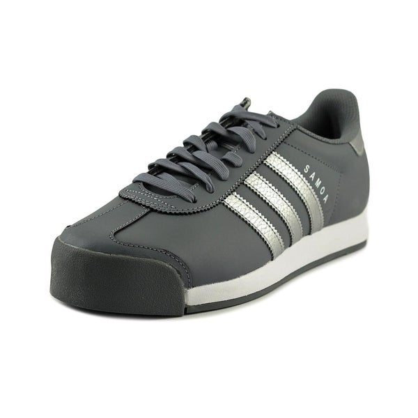 Adidas Samoa Round Toe Leather Sneakers