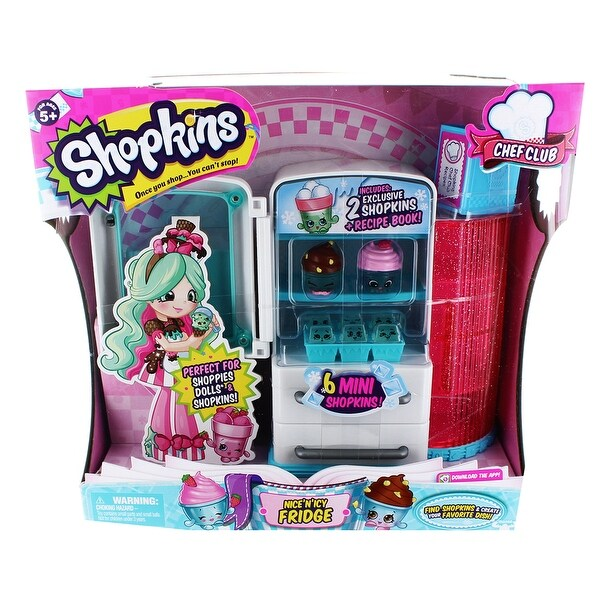 Shopkins Season 6 Chef Club Playset Nice N Icy Fridge - multi