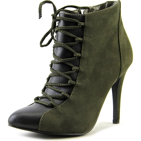 Style & Co Casie Women Army/Black Boots