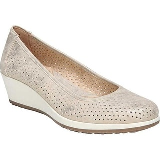 f5a2b6d01fc4 Quick View.  49.99. See Price in Cart. Naturalizer Women s Betina 2 Wedge  Pump Gold Polyurethane