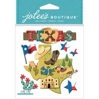 Jolee's Boutique Dimensional Stickers-Texas