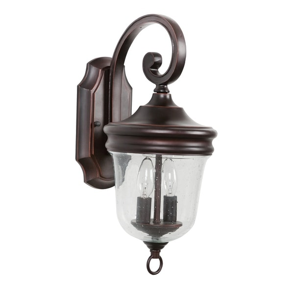 Jeremiah Lighting Z4904 Fredericksburg 2 Light Outdoor Wall Sconce 8 Wide