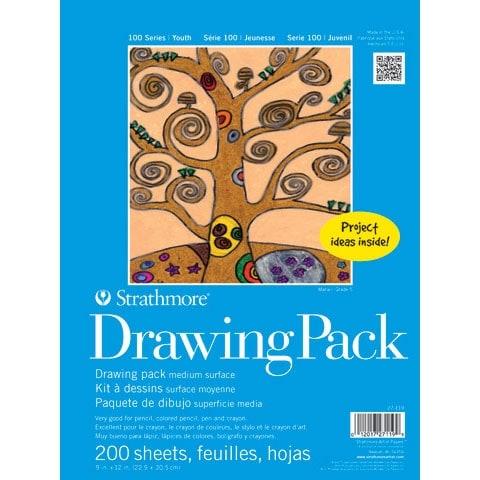 Strathmore - Kids Series Art Paper Bulk Pack - Drawing Paper Bulk Pack