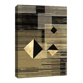 "PTM Images 9-126644  PTM Canvas Collection 8"" x 10"" - ""Gold Center"" Giclee Patterns and Designs Art Print on Canvas"