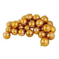 "12ct Shiny Mocha Brown Shatterproof Christmas Ball Ornaments 4"" (100mm)"