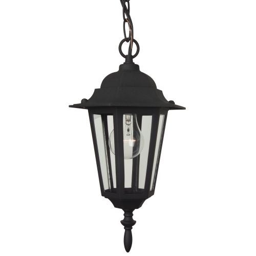 Craftmade Z151 Hex 1 Light Lantern Outdoor Pendant - 8 Inches Wide