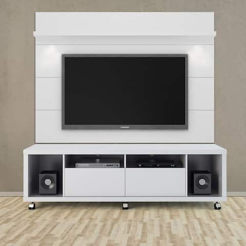 Cabrini 71-inch TV Stand with Floating LED TV Panel