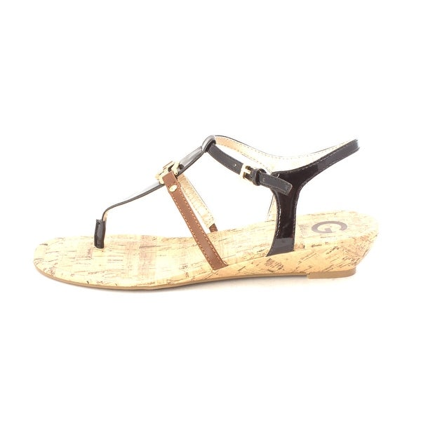 G by Guess Womens MASSI Open Toe Casual Ankle Strap Sandals - 8.5