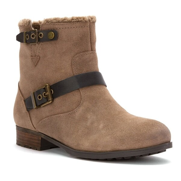 Marc Fisher Womens Nattaly Almond Toe Ankle Fashion Boots