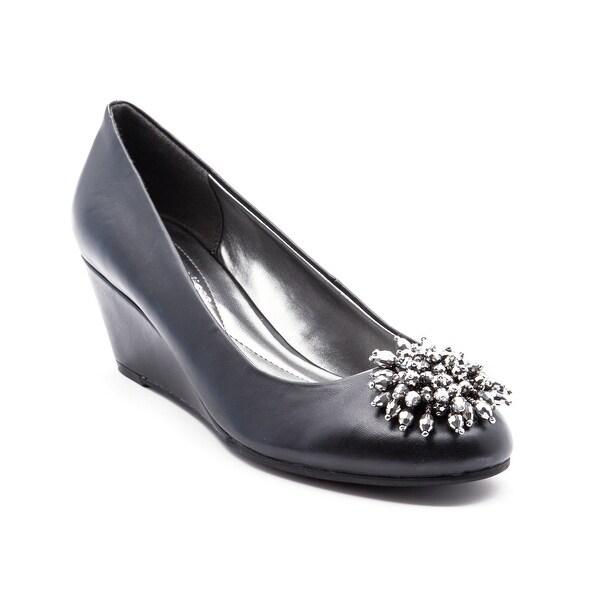 Andrew Geller Valere Women's Heels Black Smooth