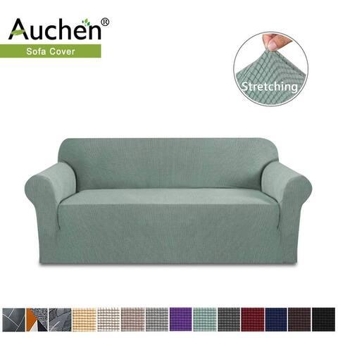 Auchen Stretch Sofa Slipcover, 1-Piece Jacquard Fabric Couch Sofa cover