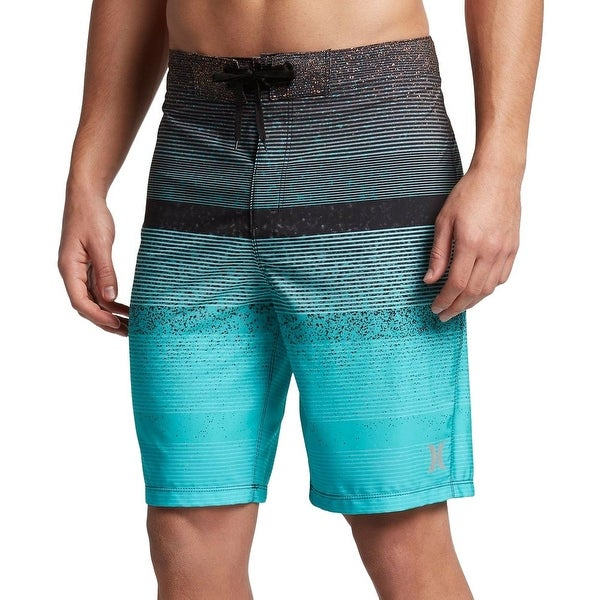 5ce34361ad Shop Hurley Blue Mens Size 32 Striped Surf Phantom Zion Board shorts - Free  Shipping On Orders Over $45 - Overstock - 21692002