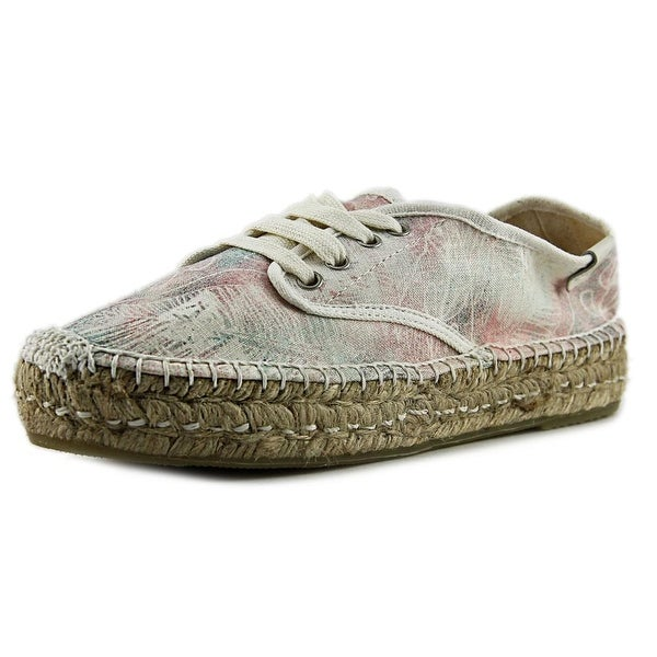 Coolway Juttie Women Round Toe Canvas White Espadrille