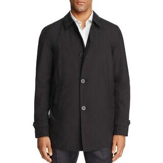 Herno Laminar Black Gore-Tex Waterproof Raincoat XX-Large 56