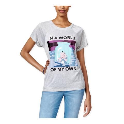 Disney Womens Alice's World Graphic T-Shirt